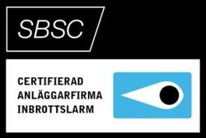 SBSC Aläggarfirma inbrottslarm Umeå Västerbottens säkerhetscenter AB