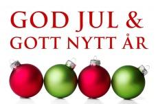 Västerbottens Säkerhetscenter önskar alla kunder en god jul. Inbrottslarm , kameraövervakning och passersystem i Västerbotten och Umeå