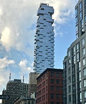 Ett hus i New York som sticker ut
