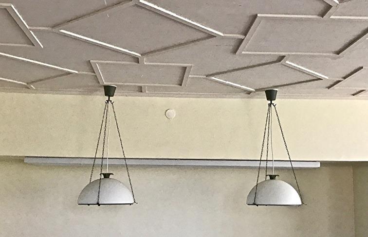 Taket i personalrummet