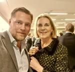 Jag och vice ordförande i Styrelseakademien Stockholm Günther Mårder