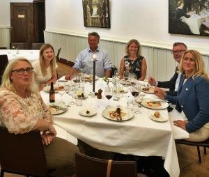 Middag med Länsförsäkringar Fondförvaltning på Högberga Gård, Lidingö