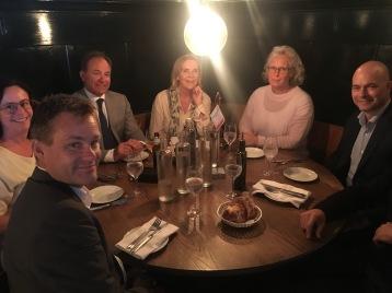 Med medlemmar i StyrelseakademienStockholm