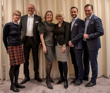 Styrelsen i Styrelseakademien Stockholm. Sussi Kvart, Dan Brännström,Gunvor Engström,Agneta Dreber, Pandelis Eliopoulos, Günther Mårder