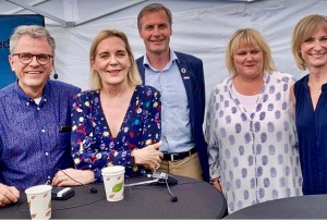 Anders Ekdahl, Gunvor Engström, Jens Skaring, Birgitta Ed, Kristina Alvendal