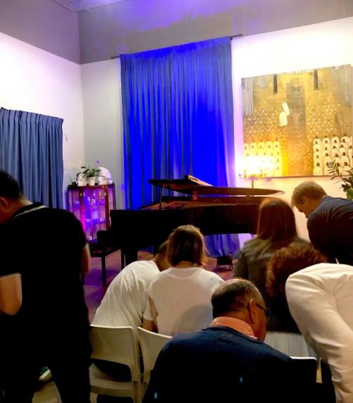 I denna sal spelade Chopin själv vid tretton års ålder