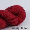 Opal 4 trådigt Handfärgat - Prickig Hallon