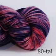 Opal 4 trådigt Handfärgat