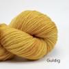 Opal 4 trådigt Handfärgat - Guldig