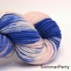 Opal 4 trådigt Handfärgat - Sommarparty