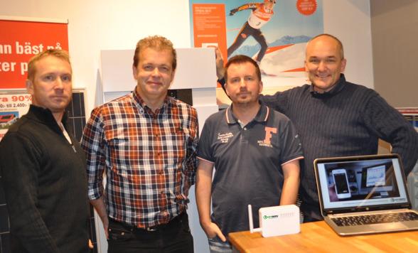 Grundarna Jonas, Peo, Lars-Åke och Janne