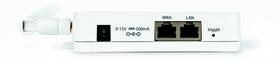 EasyServ router monteras vid värmepumpen, olika modeller med både wiFi, 3G och fast lina finns.