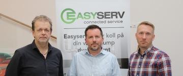 Delägarna i EasyServ Per Ola Persson, Lars-Åke Ekstrand, Jonas Åkerlund