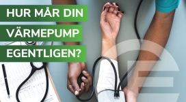 Hur mån din värmepump, dags för en hälsokontroll