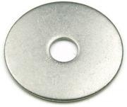 Stolsbricka stål 10x40 mm