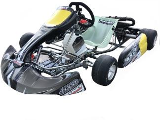 Komplett körklar kart med Rotax Max 125 cc - Komplett kart med Rotax Max Junior