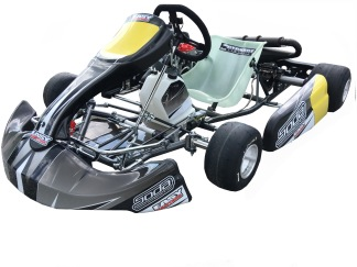 Komplett kart - Extreme Rotax Max 125 cc - Komplett kart med Rotax Max Junior