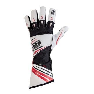 Handskar OMP KS-2R - Vit/Svart/Röd