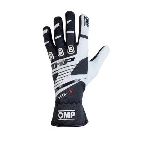 Handskar OMP KS-3 - Vit/Svart