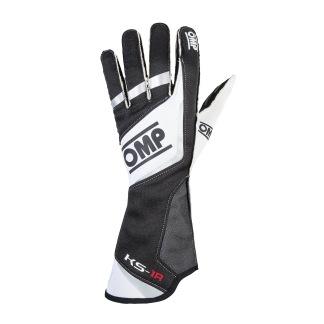 Handskar OMP KS-1R - Vit/Svart