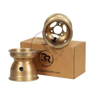 Fälg ELZ 132 mm Gold Kart mag. 1 stk -