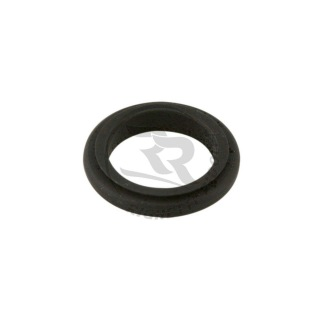 Spindeldistans 17 mm, 5 mm svart -