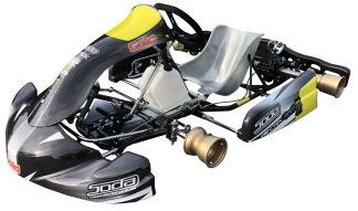 Chassie DD2 Gold Kart GTR30 - Chassie Gold Kart GTR30 DD2