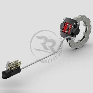 Komplett bakbromssystem MA20 -