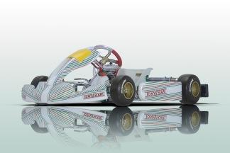 Komplett kart - Tony Kart Rookie & Raket 95 - Komplett Tony Kart Rookie Raket 95 Micro