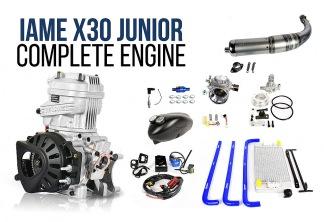 IAME X30 motor komplett - X30 junior motor komplett