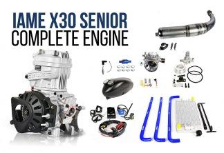 IAME X30 motor komplett - X30 senior motor komplett