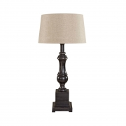 VENICE LAMPSTAND BLACK WOOD