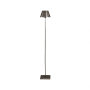 PEWTER LAMPSTAND FLOOR