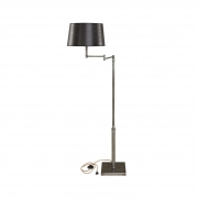 PEWTER SWING FLOORLAMP BASE