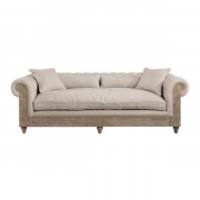 ABBEY SOFA 3-S LINE SAND