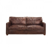 VISCOUNT SOFA VINTAGE CIGAR 2-S
