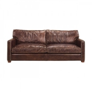 VISCOUNT SOFA VINTAGE CIGAR 3-S