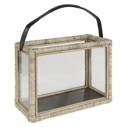 LANTERN WICKER DOUBLE
