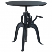 METRO CAFÉ ADJUSTABLE TABLE ROUND