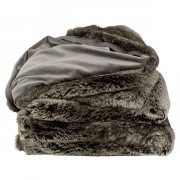 GREY BEAR THROW