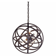 NEST CEILING LAMP BLACK SMALL