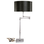 PEWTER SWING TABLELAMP BASE