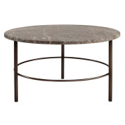 FREDO MARBLE COFFEETABLE / SIDETABLE LARGE