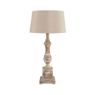 VENICE LAMPSTAND NATURAL WOOD -