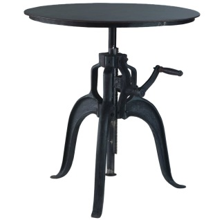 METRO CAFÉ ADJUSTABLE TABLE ROUND -