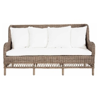 ESTELLE SOFA 3-s KUBU SLIMIT GREY -