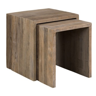 BISON SIDETABLE 2 SET -