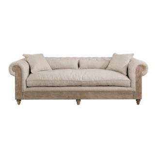 ABBEY SOFA 3-S LINE SAND -