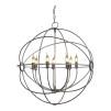 ROME CEILING LAMP STEEL LARGE