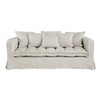 GREENWICH Sofa Linen Sand 2,5-s -